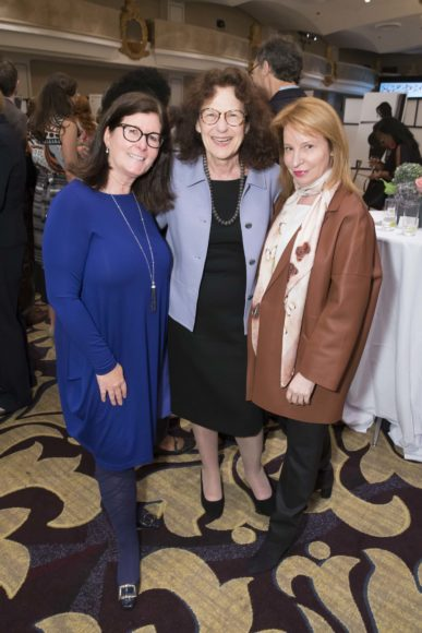 SAN FRANCISCO, CA - October 7 - Kathleen Kelly, Alicia Lieberman and Lisa Pritzker attend Homeless Prenatal 5th Annual Luncheon October 7th 2016 at Fairmont SF in San Francisco, CA (Photo Credit: Devlin Shand for Drew Altizer Photography)