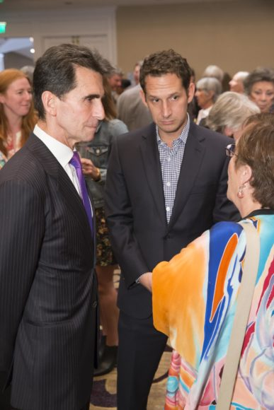 SAN FRANCISCO, CA - October 7 - Mark Leno and Daniel Lurie attend Homeless Prenatal 5th Annual Luncheon October 7th 2016 at Fairmont SF in San Francisco, CA (Photo Credit: Devlin Shand for Drew Altizer Photography)