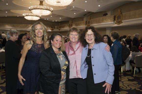 SAN FRANCISCO, CA - October 7 - Keri Vaca, Christina Hernandez, Martha Ryan and Alicia Lieberman attend Homeless Prenatal 5th Annual Luncheon October 7th 2016 at Fairmont SF in San Francisco, CA (Photo Credit: Devlin Shand for Drew Altizer Photography)