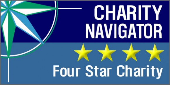 HPP is rated four stars by Charity Navigator